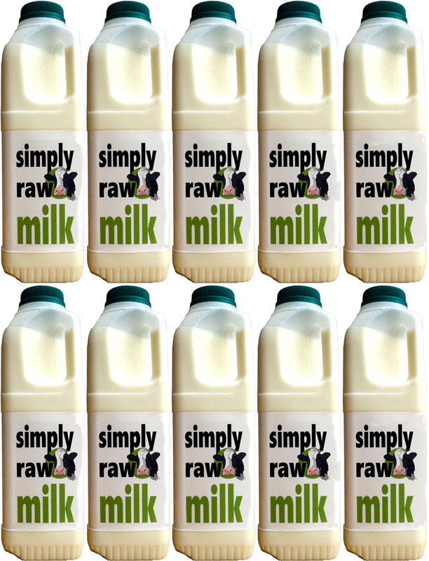 Raw Milk - Simply Raw Milk 10 litres