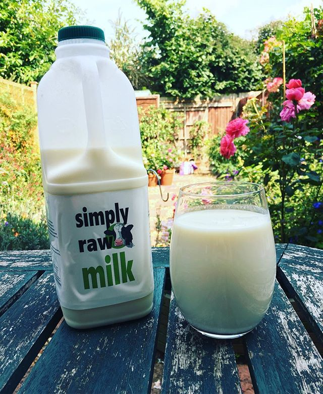 Simply Raw Milk by Cat Magnet
